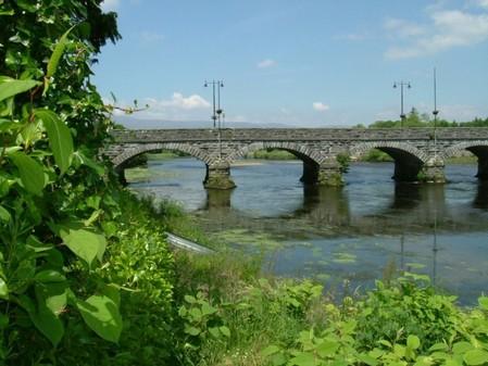 Brücke über den River Suir