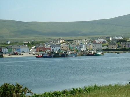 Blick von Valentia auf Port Magie