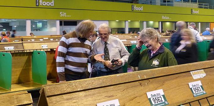 Jürgen mit John und Pamela Sumner (Ballyphelan)