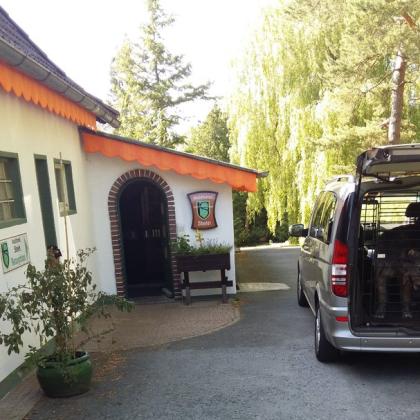 Ankunft im Waldhotel Stein in Bayreuth