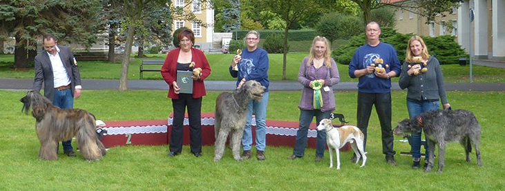 Sonntag, Best In Show Platz 1 Hillie Billie