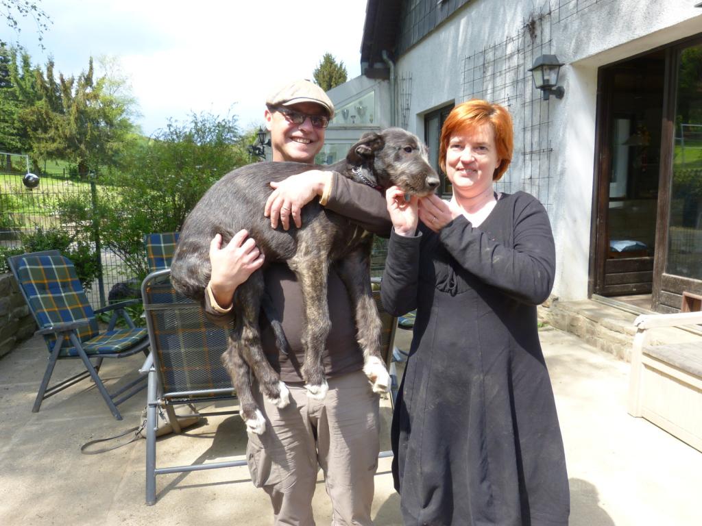 Krümel vom Alpetal mit ihren neuen Besitzern