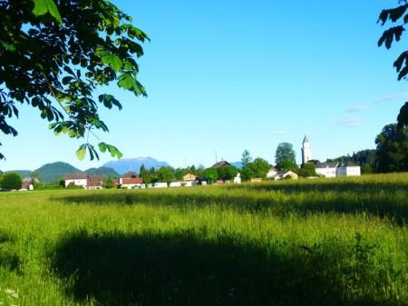 Nach dem Austoben machen wir noch einen ausgedehnten Spaziergang durch das schöne Tal der Trau.