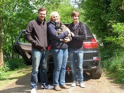 Donna Bella vom Alpetal mit ihrer neuen Familie