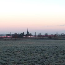 beim Morgenspaziergang