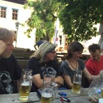 Schnacken mit Fam. Köhler