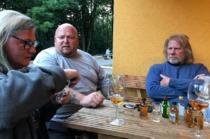 Samstagabend - Whiskyreserven mit Bullterrierfreund von Rügen vernichtet